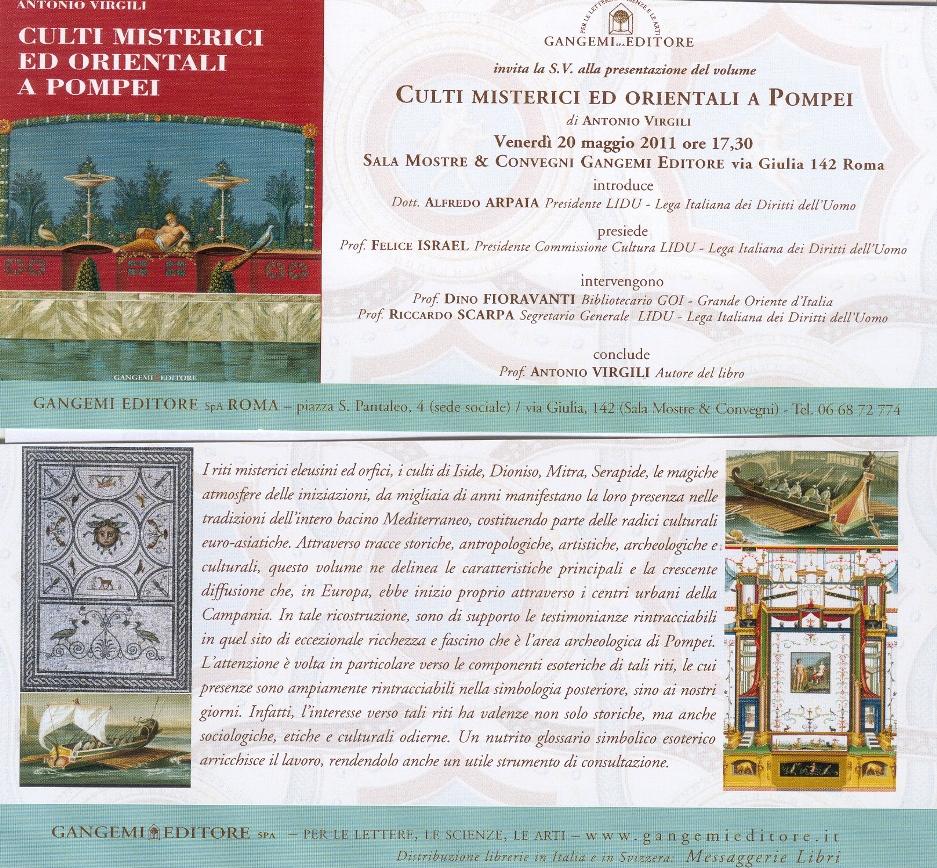 Roma 20 maggio 2011