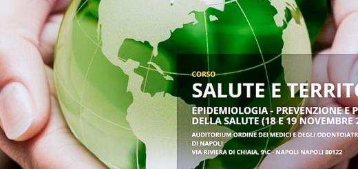 SALUTE E TERRITORIO - Epidemiologia - prevenzione e promozione della salute 18 e 19 Novembre 2016