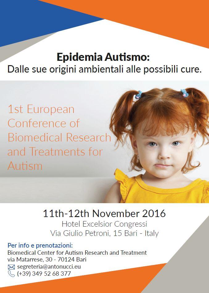 conferenza autismo bari