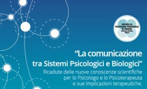 Corso ECM per psicologi sulla comunicazione tra sistemi psicologici e biologici 1