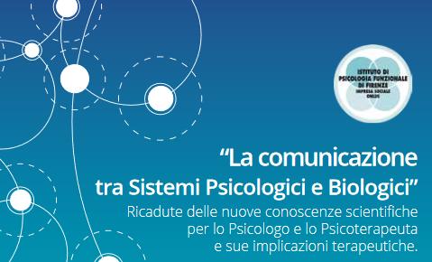 Corso ECM per psicologi sulla comunicazione tra sistemi psicologici e biologici