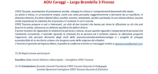 Firenze 24 Novembre 15,30-18,30 Aula Magna di Medicina-Careggi