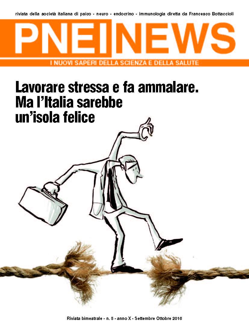 PNEINEWS: Lavorare stressa e fa ammalare. Ma l'Italia sarebbe un'isola felice
