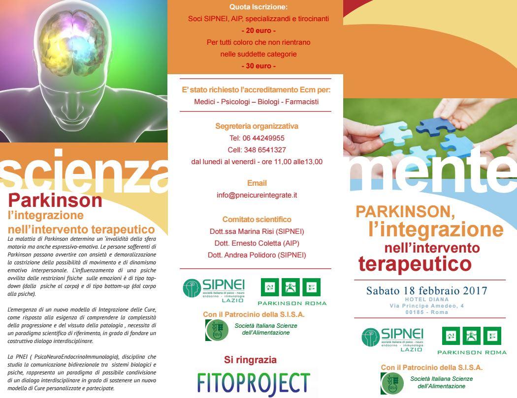 Parkinson, l'integrazione nell'intervento terapeutico - 18 febbraio 2017