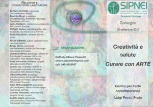 Creatività e salute curare con ARTE il Convegno a Prato