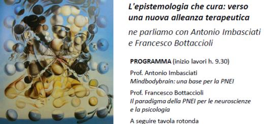 Neuroscienze e Psicoanalisi L'epistemologia che cura: verso una nuova alleanza terapeutica ne parliamo con Antonio Imbasciati e Francesco Bottaccioli