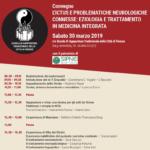 Convegno - L'ictus e problematiche neurologiche connesse: Eziologia, e trattamento in medicina integrata