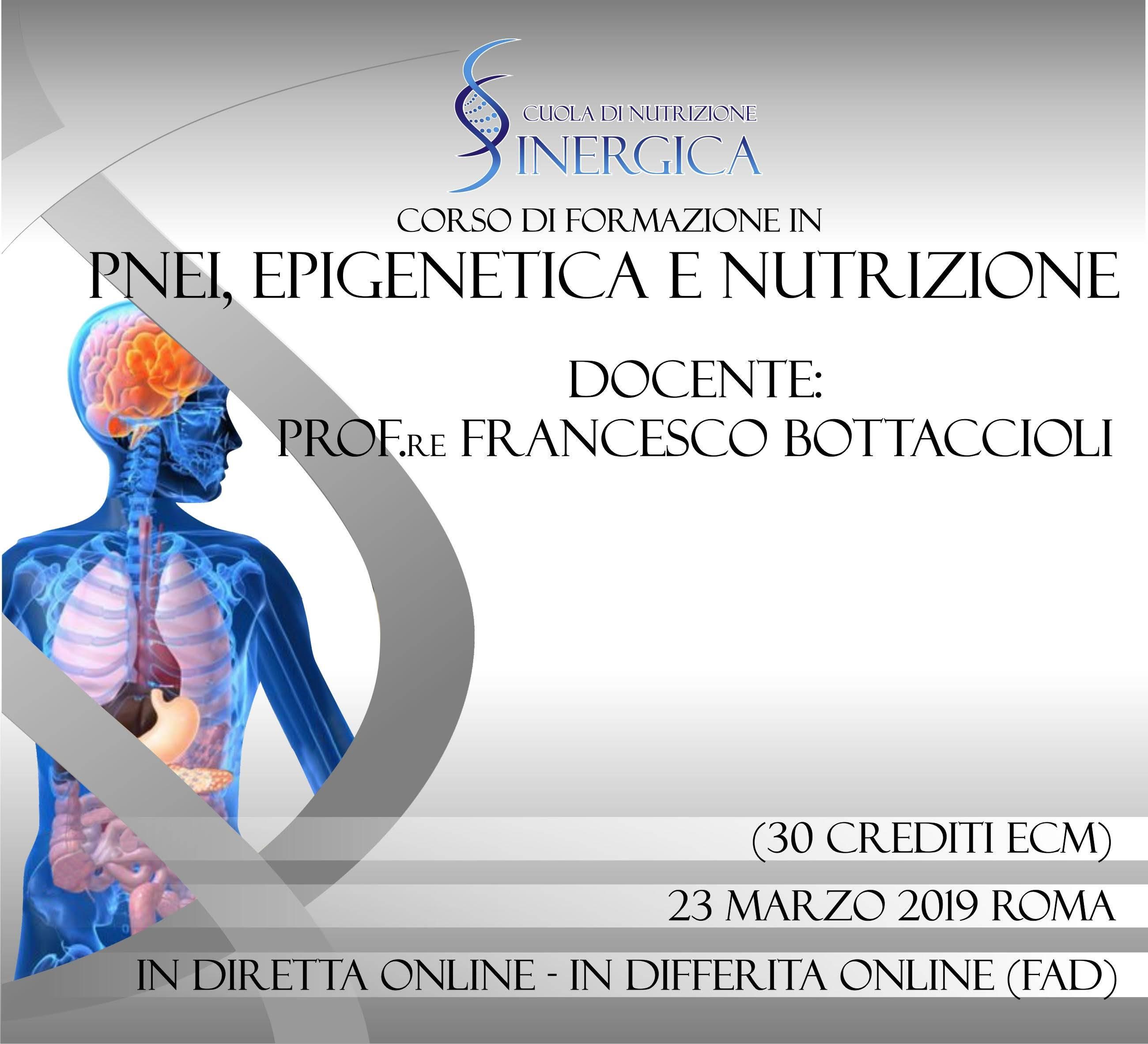 Pnei epigenetica e nutrizione