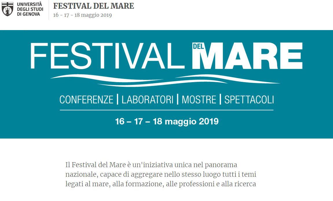 I Cimenti al Festival del Mare dell'Università di Genova con SIPNEI Liguria