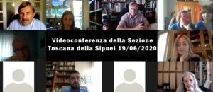 Videoconferenza della Sezione Toscana della Sipnei del 19/06/2020