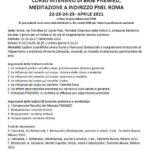 CORSO INTENSIVO DI BASE PNEIMED, MEDITAZIONE A INDIRIZZO PNEI. ROMA